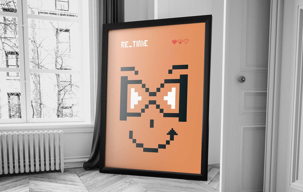 Diseño de cartel para Madrid Gráfica 21